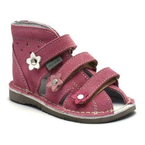 Dziecięce buty profilaktyczne Danielki S124/S134 Róż