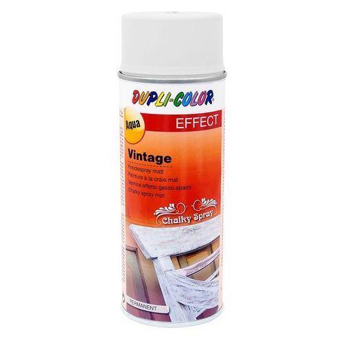 Dupli color Lakier vintage taiga biały 400 ml (4048500466007)
