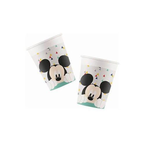 Kubeczki urodzinowe Myszka Mickey - 200 ml - 8 szt.