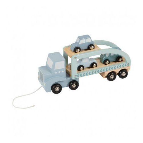 Ciężarówka-laweta - błękitna - marki Little dutch