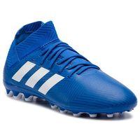 Buty adidas - Nemeziz 18.3 Ag J CG7164 Fooblu/Ftwwht/Fooblu, kolor niebieski