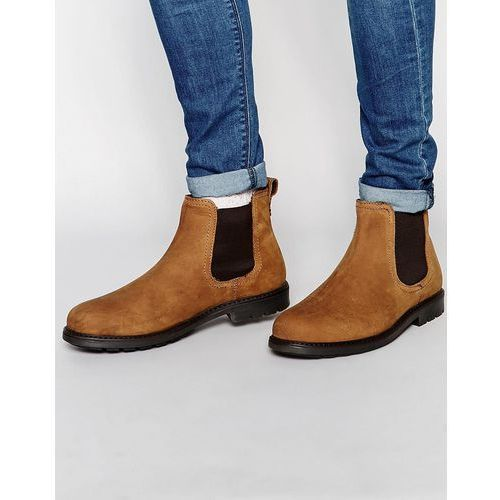 leather chelsea boots - beige marki Red tape