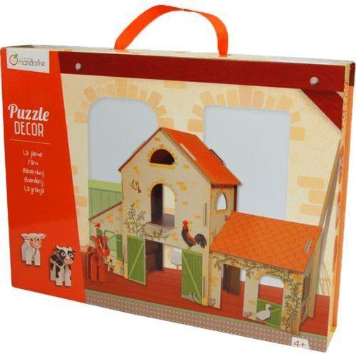 Puzzle Decor 3D - Farma - AVENUE MANDARINE, kup u jednego z partnerów