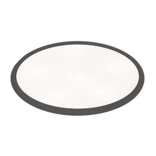 Wpust lampa sufitowa hofu 3319/2g11/cz okrągła oprawa podtynkowa oczko czarne marki Shilo