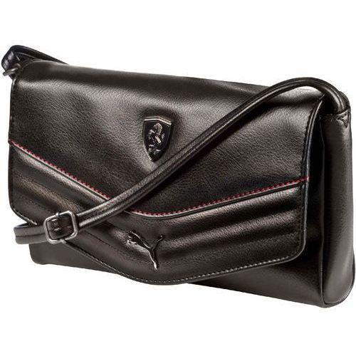 torebka ferrari ls small satchel black, marki Puma