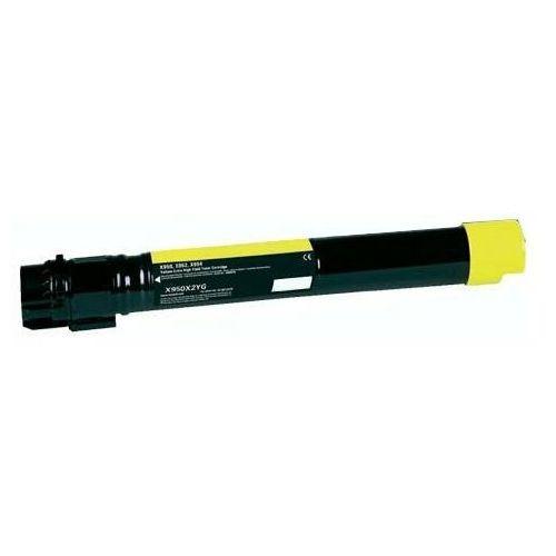Dobretonery.pl Toner zamiennik dt950yl do lexmark c950 c950de c950dte x950 x950de x950dhe x950dte x952 x952de x952dte x954 x954de x954dhe, pasuje zamiast lexmark x950x1yg x950x2yg yellow, 22000 stron
