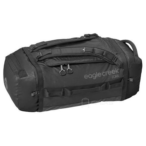 Eagle Creek Cargo Hauler Duffel 60L torba podróżna składana 67 cm / plecak / Black - Black, kolor czarny