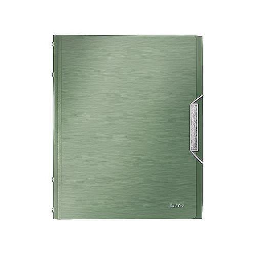 Leitz Teczka segregująca style 6 przegródek 200 kartek pistacjowa zieleń 39950053