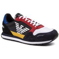 Emporio armani Sneakersy - x4x215 xl200 a591 navy/black