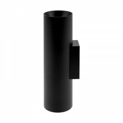 Crosti berra czarna góra-dół 2xgu10 ip20 home&decor kinkiet ścienny 459314 marki Oxyled
