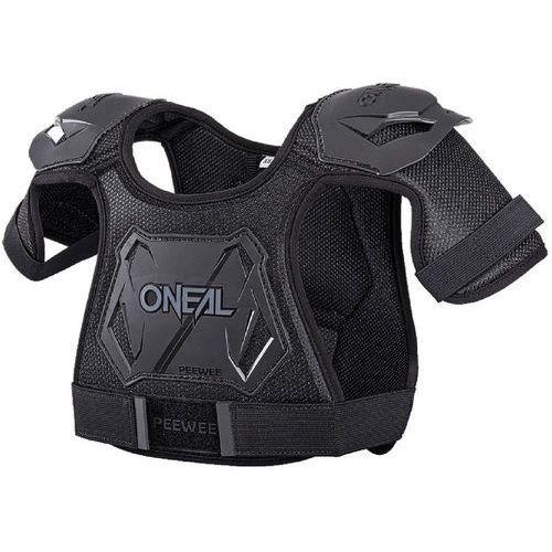 ONeal Peewee Ochraniacz czarny XS-S 2018 Ochraniacze na plecy i klatkę piersiową (0842346018390)