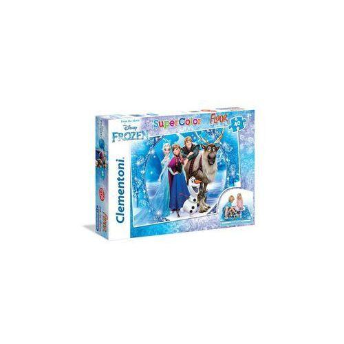 CLEMENTONI 40 EL. Podłogowe Frozen, AM_8005125254477
