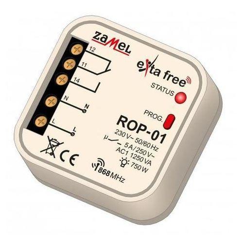 Odbiornik radiowy 1-kanałowy exta free rop-01 do puszki fi60 exf10000047 marki Zamel