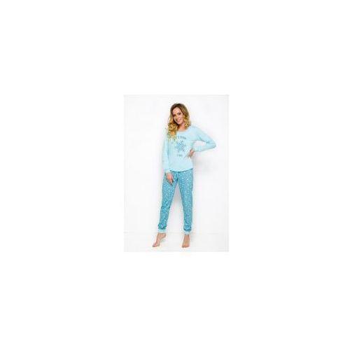 Piżama damska TARO Nora 2124 niebieska