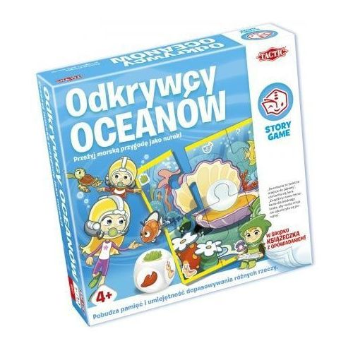 Story game: odkrywcy oceanów marki Tactic