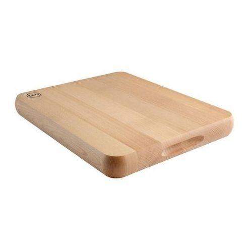 Deska do krojenia z drewna bukowego | 305x380x(H)40mm