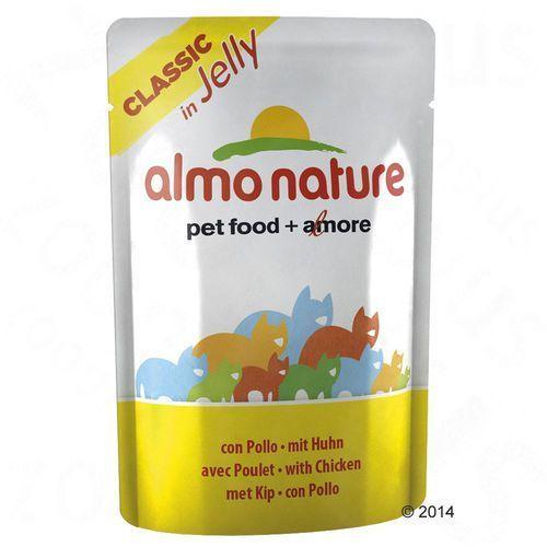 Almo nature  classic in jelly tuna (tuńczyk) - saszetka 24x55g