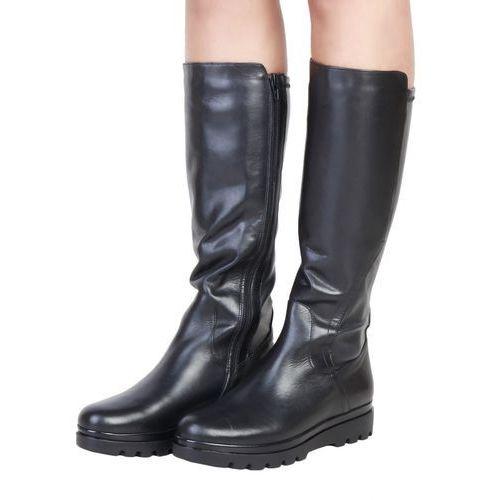 Damskie buty kozaki annikki czarne marki Ana lublin