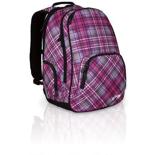 Plecak młodzieżowy hit 828 h - pink marki Topgal