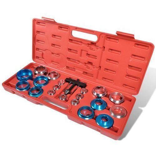 Vidaxl wał korbowy, uszczelki, zestaw narzędzi (od 21,5 do 64 mm)