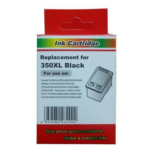 zastępczy atrament HP 350XL [cb336ee] black 100% nowy, Z-CB336EE