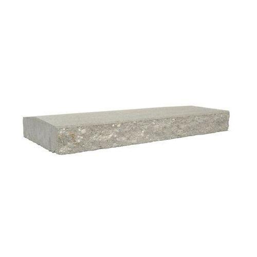 Ziel-bruk Przykrycie cokołu 50 x 30 x 6 cm betonowe dwustronnie łupane skała lubuska (5901171166524)