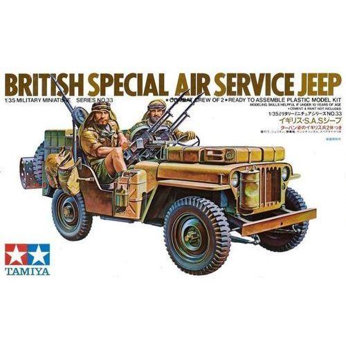 British sas jeep marki Tamiya