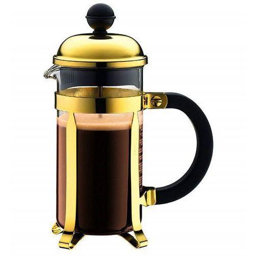 - chambord - tłokowy zaparzacz do kawy 0,35 l - złoty marki Bodum