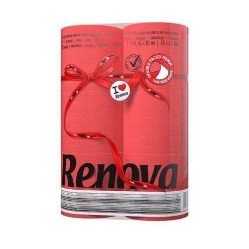 6szt czerwony red label papier toaletowy marki Renova