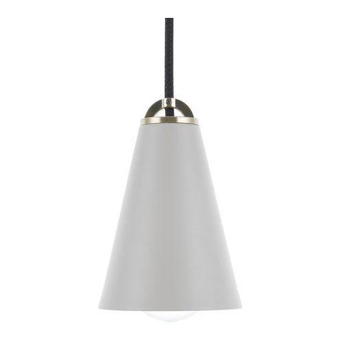 Lampa wisząca szara CARES, kolor Szary