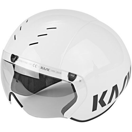 Kask Bambino Pro Kask rowerowy dodatkowo wizjer biały M | 55-58cm 2018 Kaski triathlonowe