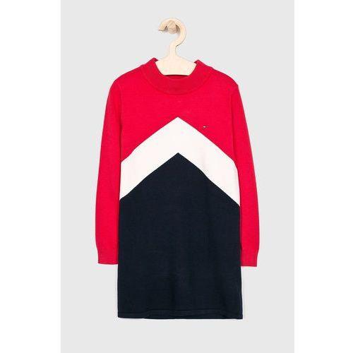 - sukienka dziecięca 110-176 cm marki Tommy hilfiger