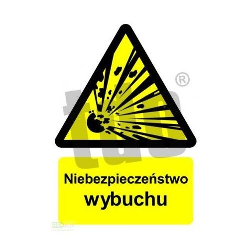 Niebezpieczeństwo wybuchu - materiały wybuchowe Art. BC004, 530