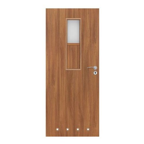 Drzwi z tulejami Olga 60 lewe akacja (5901525333831)
