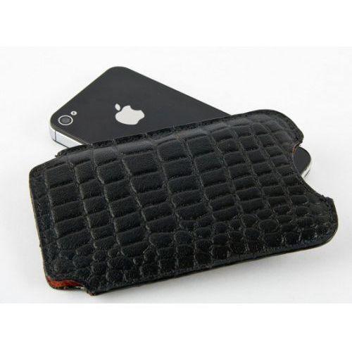 Dbramante1928 Etui  cover iphone - croc black (5711428000507)