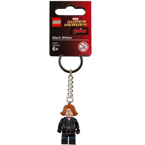 853592 BRELOK CZARNA WDOWA (Marvel Black Widow Keychain) LEGO® Marvel Super Heroes, 853592
