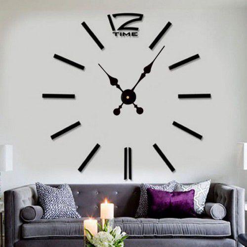 """Zegar ścienny """"zrób to sam"""" cichy #01B2 /320mm, DIY_DC01B2"""