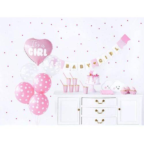 Party deco Party box - imprezowe pudełko - zestaw dekoracji na baby shower
