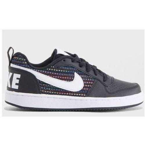 49e6ebb7a9a27 Nike tenisówki chłopięce Court Royale Low SE black/white 37.5, kolor biały