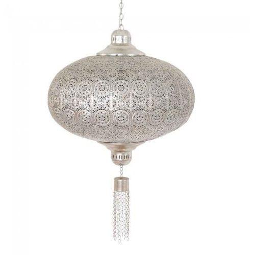 mexlite lampa wisząca srebrny, 1-punktowy - antyk - obszar wewnętrzny - mexlite - czas dostawy: od 10-14 dni roboczych marki Steinhauer
