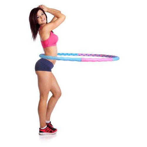 Insportline Magnetyczne hula hop weight hoop 110 cm (8595153668587)