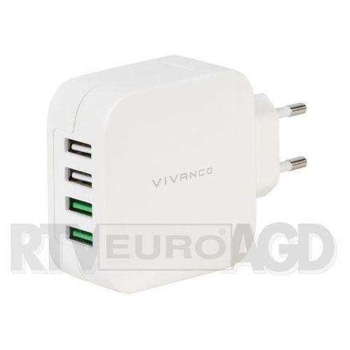 Ładowarka sieciowa 37564 fast charging 4xusb marki Vivanco