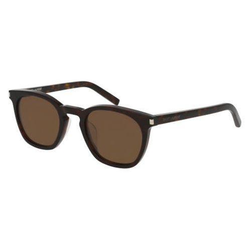 Okulary Słoneczne Saint Laurent SL 28/F Asian Fit Polarized 013