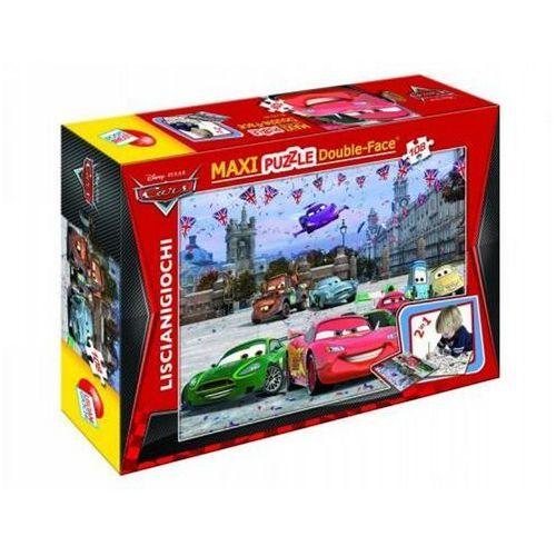 Lisciani Puzzle 108 dwustronne maxi cars