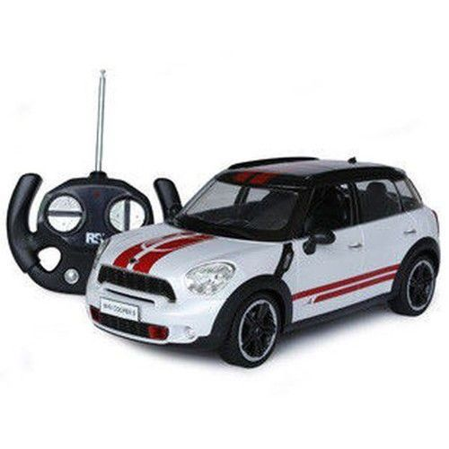 Anek Auto mini cooper s 1:14 zdalnie sterowany biały (5905375429171)