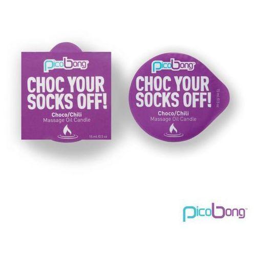 Lelo (se) Świeca do masażu czekoladowo-chili picobong | 100% dyskrecji | bezpieczne zakupy