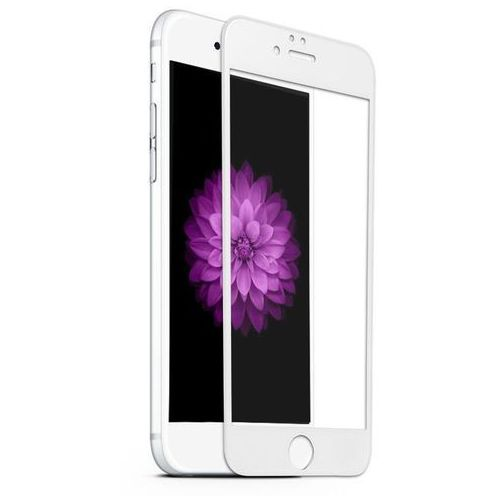 Szkło hartowane  x pro 3d apple iphone 6 iphone 6s białe - biały marki Benks