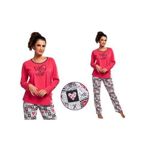 Piżama damska ALICJA: fuksja
