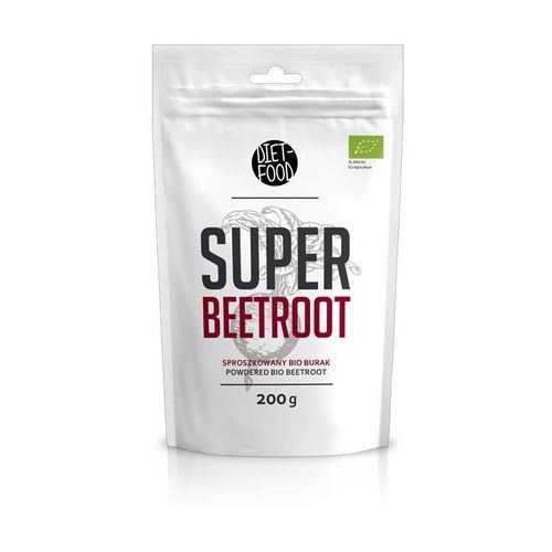Super beetroot sproszkowany bio burak 200g eko marki Diet-food