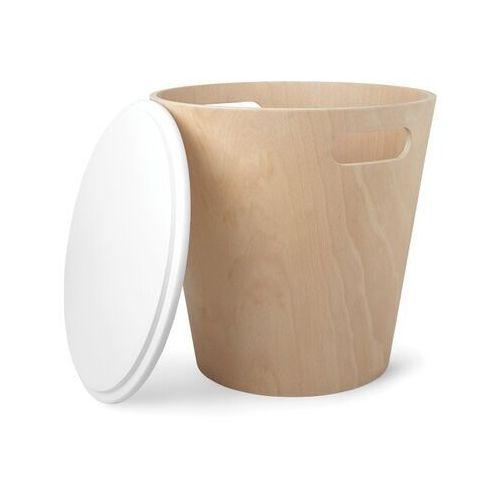 UMBRA - Kosz drewniany, naturalny, WOODROW, T_c1a062b5-4bba-4183-9e26-dd80c2838e35